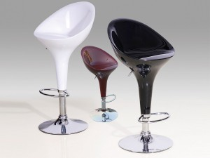 Credit Crunch Carpets Bar Stool Model 2