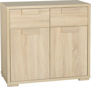 Cambourne 2 Door 2 Drawer Sideboard in Sonoma Oak Effect Veneer