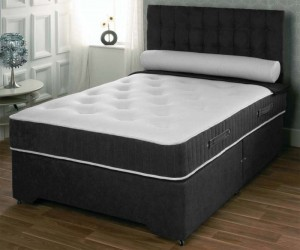 Orthopaedic Memory Foam Double Divan Bed