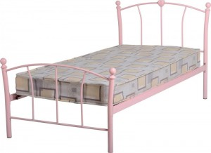 Caitlin 3 foot Bed in Pink