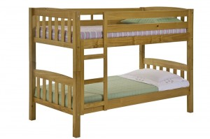 America Short Bunk Bed 3ft
