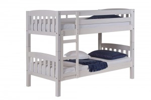 America Short Bunk Bed 3ft White