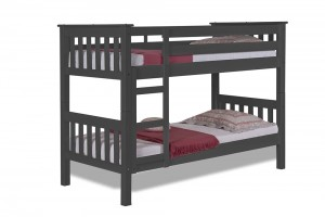 Barcelona Short Bunk Bed 2ft6 Graphite