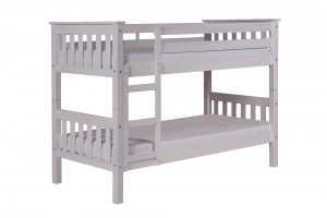 Barcelona Short Bunk Bed 2ft6 White