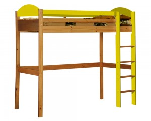 Maximus High Sleeper Antique With Lime Details