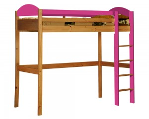 Maximus High Sleeper Antique With Fuschia Details