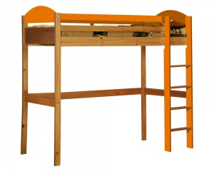 Maximus High Sleeper Antique With Orange Details