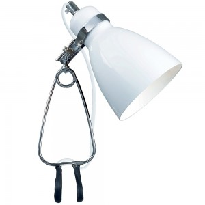 Cyclone Clamp Light White