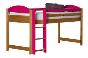 Maximus Mid Sleeper Antique With Fuschia Details