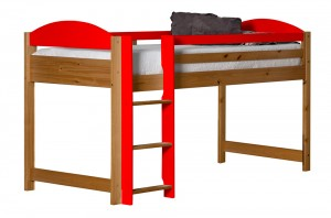 Maximus Mid Sleeper Antique With Red Details