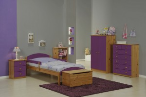 Maximus Mini Safety Rail Antique With Lilac Details