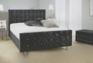 Merino Luxury Upholstered Double Bed