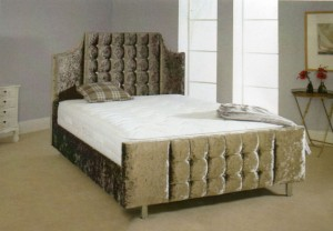 Texel Luxury Upholstered King Size Bed