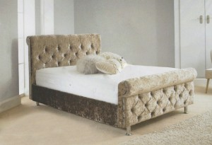 Romney Luxury Upholstered Double Bed