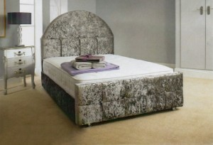 Shetland Luxury Upholstered Double Bed