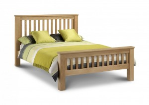 Amsterdam Oak King Size Bed