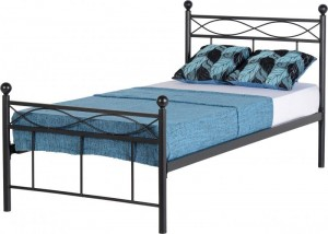 Corbin 3' Bed Black