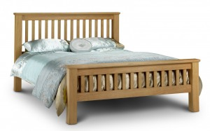 Amsterdam Oak Super King Size (6ft)  Bed