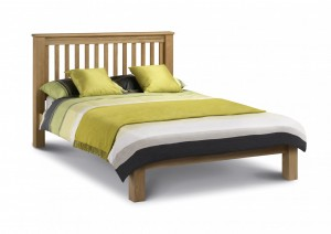 Amsterdam Oak Low Foot End King Size Bed