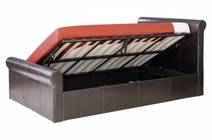 Carolina 5' Side Gas Lift Bed Brown