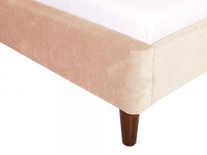 Avery 4ft6 Fabric Bedstead Natural