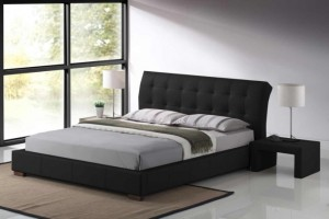 Boston Leather King Size Bed