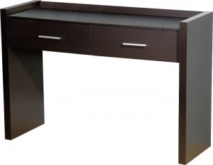 Denver 2 Drawer Dressing Table in Expresso Brown