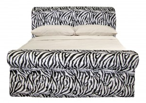 Zebra King Size Bed