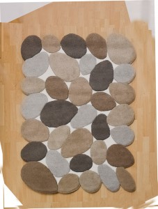 Abstract Pebbles Beige