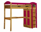 Maximus High Sleeper Set 1 Antique With Fuschia Details
