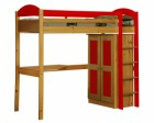 Maximus High Sleeper Set 1 Antique With Red Details