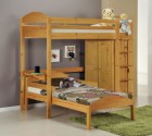Maximus L Shape High Sleeper Set 1 Antique