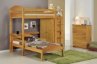 Maximus L Shape High Sleeper Set 2 Antique