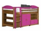 Maximus Mid Sleeper Set 2 Antique With Fuschia Details