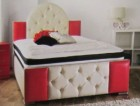 Cheviot Luxury Faux Leather Double Bed